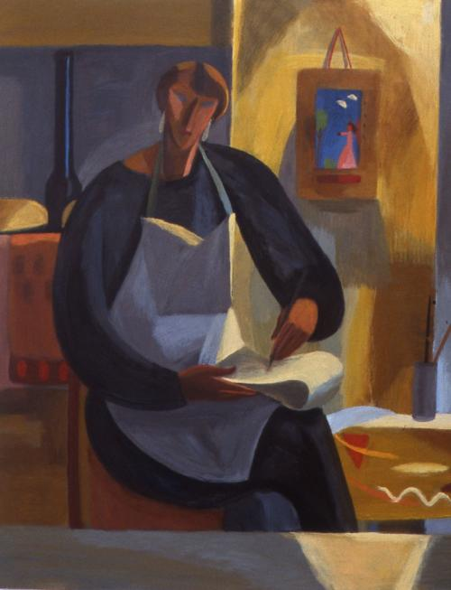 Self Portrait 1994 Oil on Canvas 152x122cm