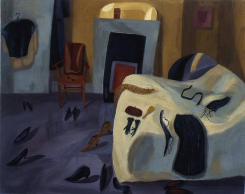 Bedroom 1997 Oil on Canvas 96x122cm
