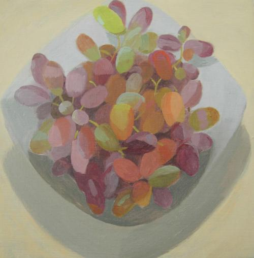 Grapes1 2013 Oil on Board 20x20cm