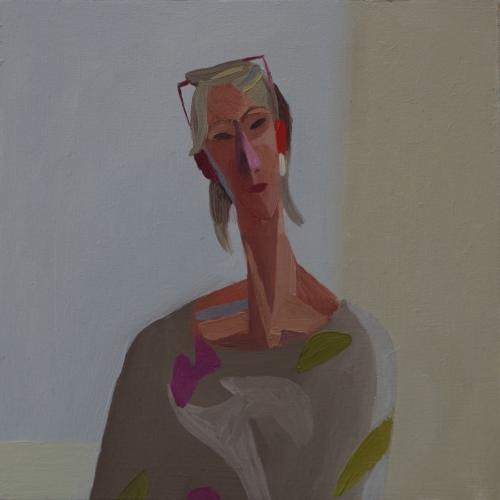 Head Study 3 2012 20x20cm