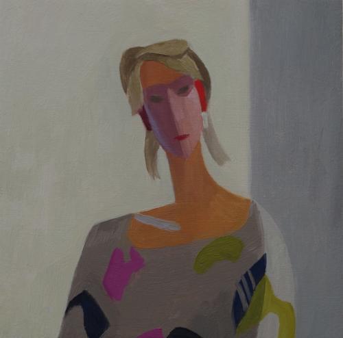 Head Study 4 2012 20x20cm