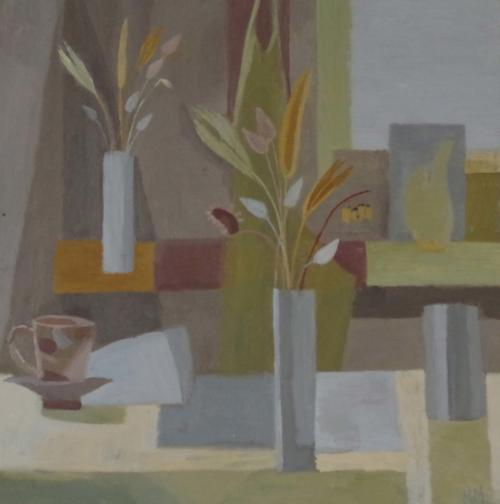 My Studio I 2020 Oil on Board 25x25cm