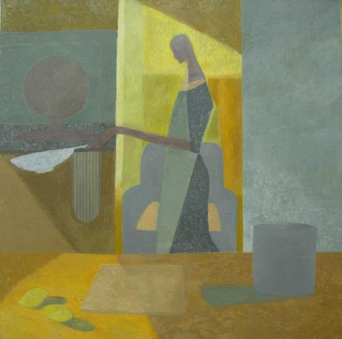 Pancake Day 2012 Oil on Canvas 122x122cm