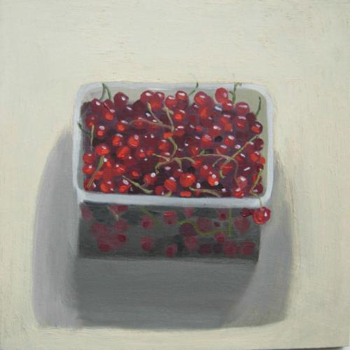 Red Currants 2014 Oil on Board 20x20cm
