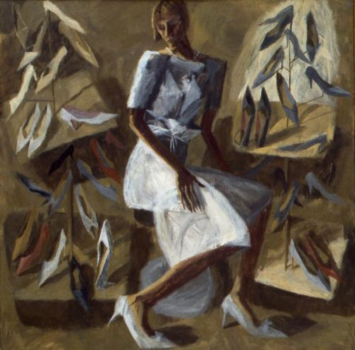 Summer Shoes 1983 Oil on Canvas 122x122cm
